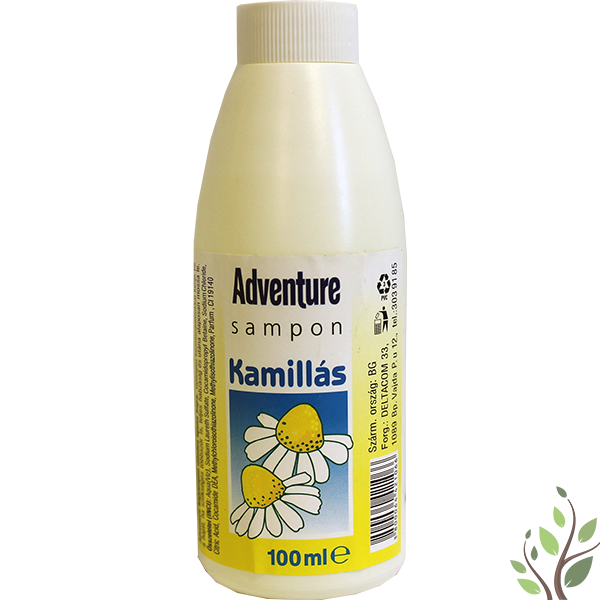 Adventure sampon 100ml kamillás