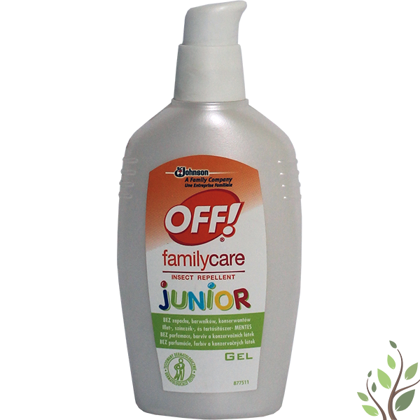 Off junior rovarriasztó 100ml pumpás